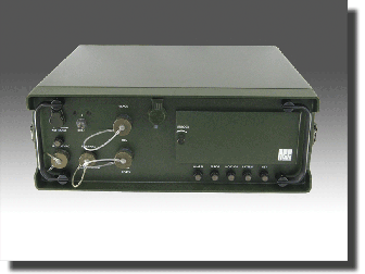 DSD 72B-SP(STM) Fiber Optic Network Encryption Appliance for Military Environments